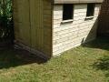 2 window shed