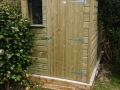 shed offset door