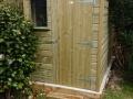 shed offset door